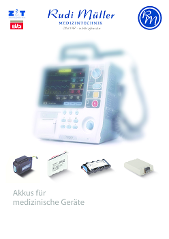 RM Akkus f. med. Geräte